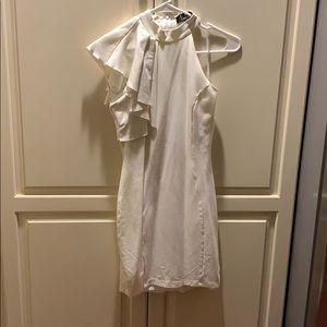 Lulu's Dresses - Lulu's AU REVOIR IVORY BODYCON DRESS